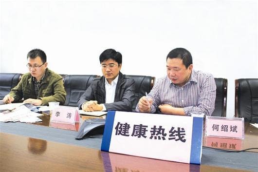 领导问政    农村新报讯 记者李陈 通讯员 朱海东   10月31日上午,省